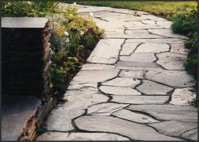 Stone Walkways in Baldwin County AL - Krob Landscape